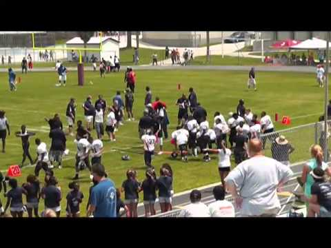 RAW VIDEO: Youth Football Brawl
