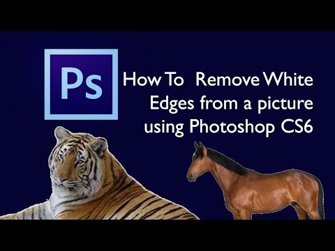 How to Remove White Edges from a Photo in Photoshop CS6