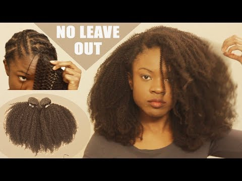 NO ONE BELIEVES IT'S FAKE! Detailed Natural Sew In Weave Tutorial ft. Queen Weave Beauty Coily Curly