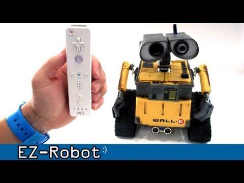 Nintendo Wii Controls Wall-e Robot