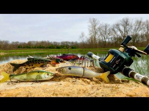 SWIMBAIT BASS FISHING CHALLENGE (CRAZY RESULTS)!!!