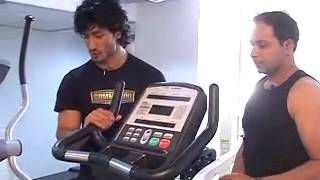 GYMING WITH VIDYUT JAMWAL