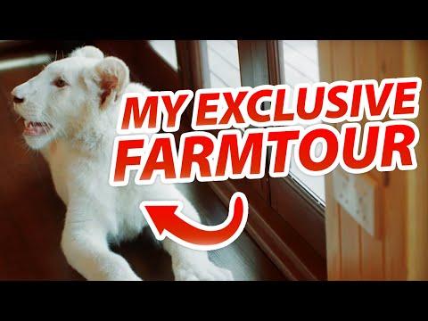 MY EXCLUSIVE PRIVATE FARM TOUR IN DUBAI Feat.. Raftaar