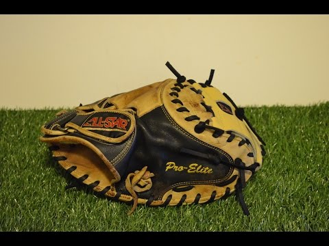 All Star CM3000 Catchers Mitt Relace - Before and After Glove Repair