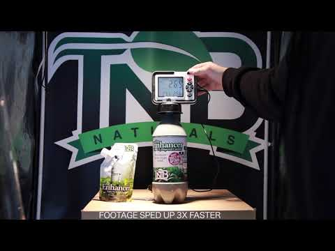 TNB Naturals  - The Enhancer Sealed Grow Tent Test Video