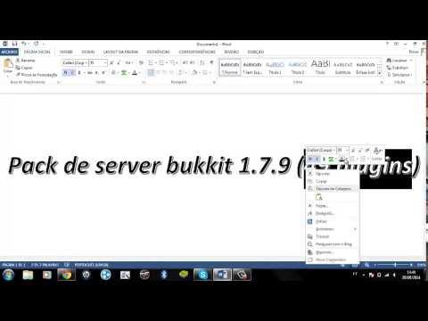 TOP 49 PLUGINS PARA SERVER BUKKIT MINECRAFT 1.7.9 [Download]