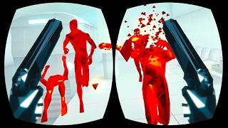 BULLET TIME DODGING! - SuperHOT #2 (HTC Vive Gameplay)