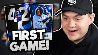 my FIRST RANKED SEASONS game in MLB The Show 21!!