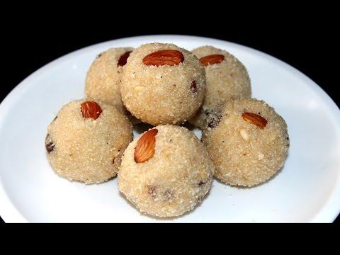 Rava Ladoo Recipe // Sooji ke Laddu