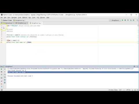 The Basics - Python 3: Accessing substrings using [a:b]
