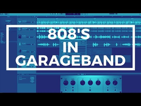 How To Make an 808 Bass In Garageband