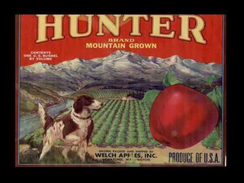 Apple Box Art- Washington's Apple Labels