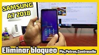 Samsung Galaxy A7 SM A750F Hard Reset And Pattern Pin Lock Reset