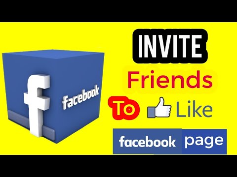 Invite Facebook Friends To Like Your Facebook Page | Real Method | On Phone | 2018 | Hindi