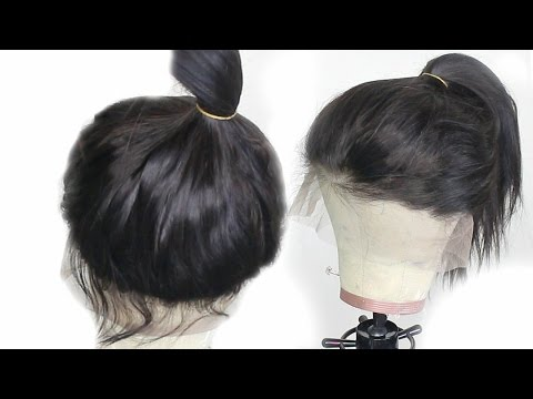 Can't Sew? DIY 360 Lace Frontal: Brazilian Silky Straight | OMGQUEEN