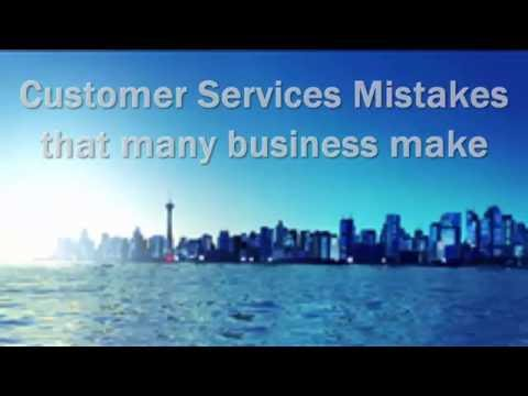 Top customer service mistakes that many businesses / Business make