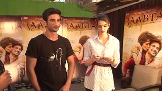 Funniest Video Ever | Draw A Song Game With Sushant Singh Rajput And Kriti Sanon | Raabta| follo.in