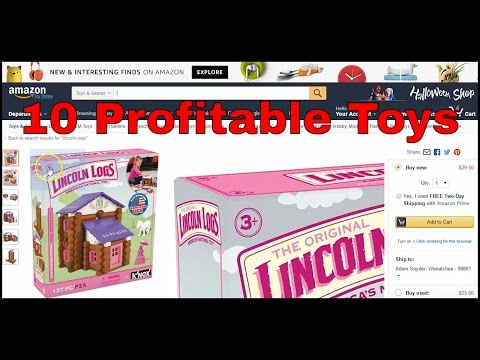 10 Used Toys I Bought From Goodwill And Sold On Amazon FBA For Profit - Don't Forget Used Items