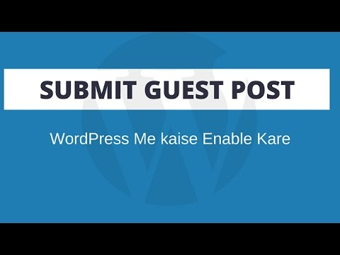 Add Submit Post Form in WordPress