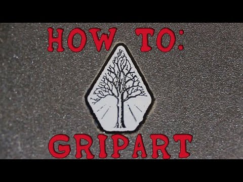 How To Make Custom Grip Tape - Quick Tutorial