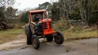 Tractor with a volvo turbocharged motor!