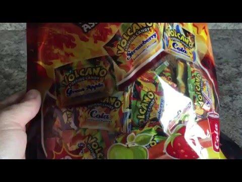 Volcano Pop Rocks Review
