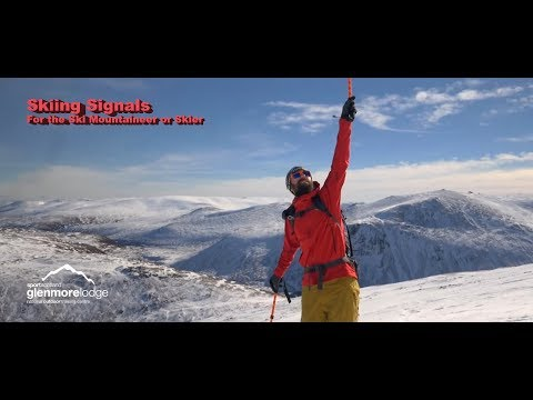 Skiing Signals - For the Ski Mountaineer or Skier