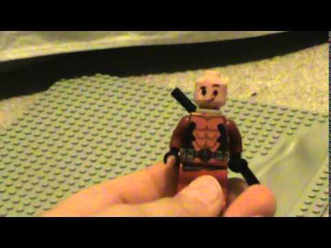 Custom LEGO Deadpool Minifigure Showcase