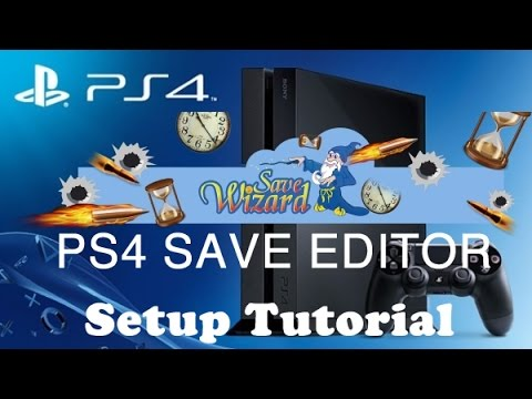 PS4 Save Wizard Editor - Setup Tutorial & Review