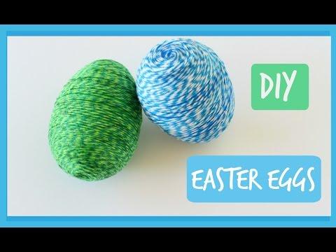 DIY Baker's Twine Easter Egg Craft | Easter Egg Decorations | Ali Coultas