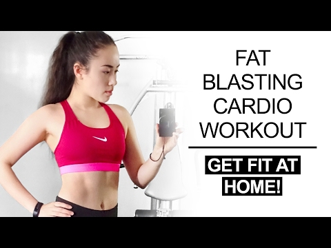 🔥 10 Minute HIIT Cardio Workout | Belly Fat Burning Exercises 🔥