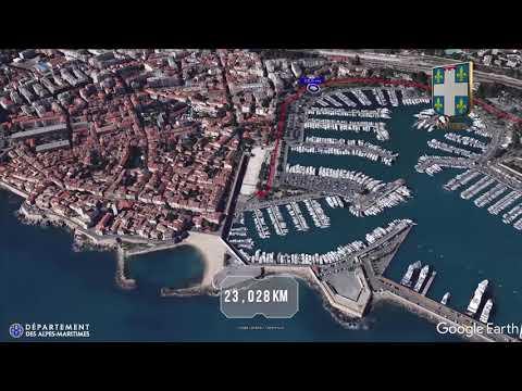 Parcours 3D Marathon des Alpes-Maritimes Nice-Cannes 2017