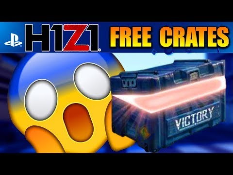 H1Z1 PS4 - HOW TO GET FREE CRATES! GET FREE SKINS in H1Z1 PLAYSTATION 4! H1Z1 Playstation 4 Gameplay