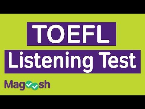 TOEFL Listening Practice Test