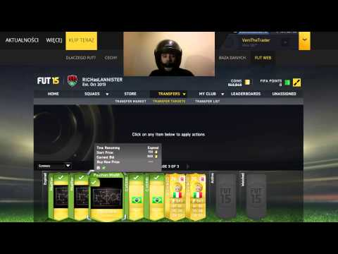 FIFA 15 FUT RICH AS LANNISTER #1 trading coins earning
