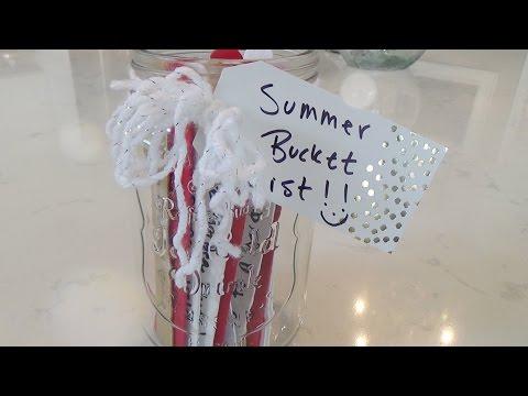 Summer Bucket List Jar!