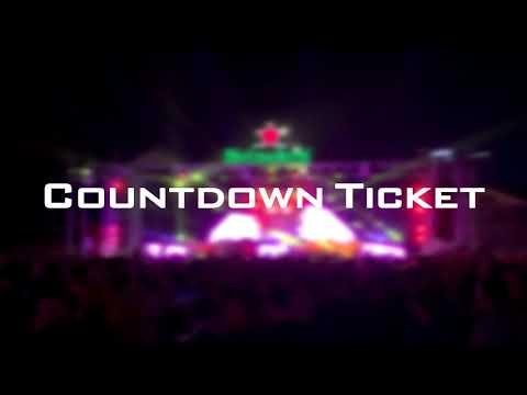 EDM Cambodia Countdown 2018 to 2019 Ticket