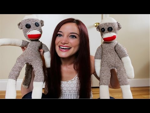 DIY SOCK MONKEY - CHEAP AND EASY