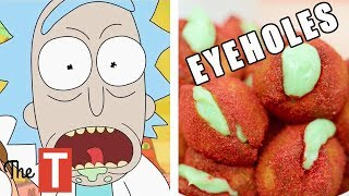 10 Foods Inspired By Your Favorite Cartoons (Rick and Morty, Spongebob, Pokemon)
