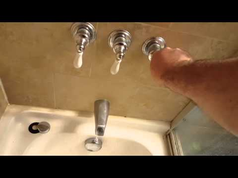 Price fister faucet knobs spinning all the way around