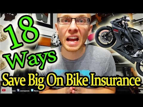 18 Ways to Save Big On Motorcycle Insurance