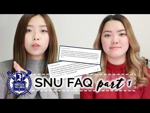 Seoul National University Study Abroad Application Process & SNU Buddy (서울대학교) | FAQ 01