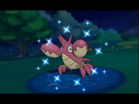 Pokemon Omega Ruby Live Shiny Corphish/Krebscorps