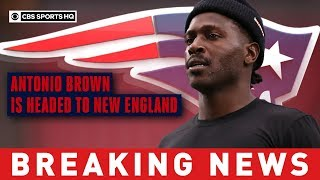 Antonio Brown to sign with Patriots hours after Raiders grant his release | CBS Sports HQ