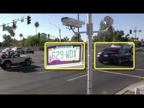 How Red Light Cameras Work   YouTube