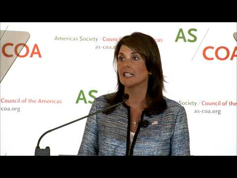 Ambassador Haley Delivers Remarks at Washington Conference on the Americas
