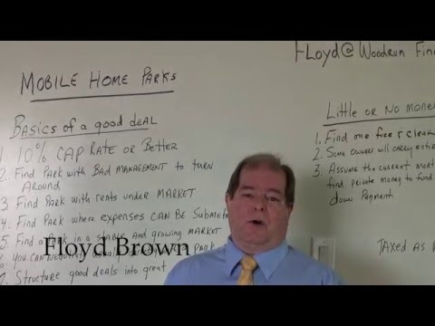 #floydloans/How to buy Mobile Home Parks