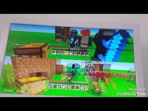 Minecraft ps3 présentation des mod et skin moder épisode 2