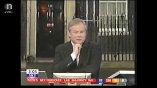 Sky News Vote 2001 - Labour Win