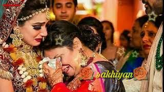 #whatsapp status 🌹 Bidai song 🌹Saathi sakhiyan bachpan ka yeh angna
